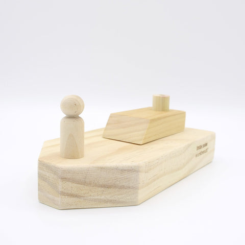 3.5 Beam Wooden Boat