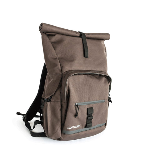 Springwater Upcycled Rolltop Backpack