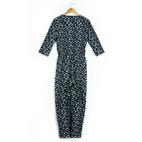 Mountain Print Jumpsuit