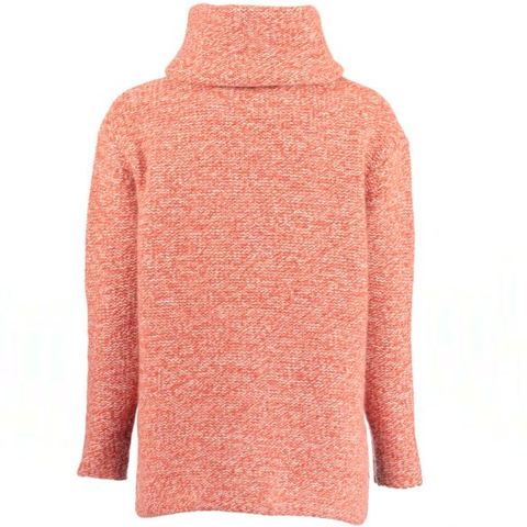 Virgin Wool Roll Neck Jumper