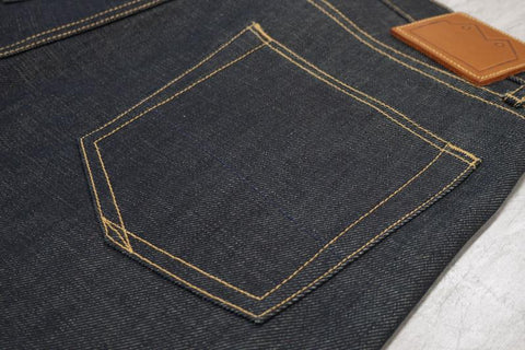 Blackhorse Lane Men's NW1 Relaxed Straight Jean, 14oz Turkish Selvedge | BuyMeOnce