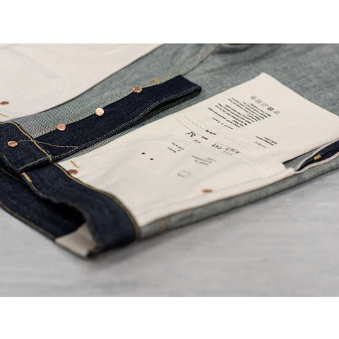 Blackhorse Lane Men's NW3 Slim Straight UK-Made Lifetime Jeans, 14oz Indigo Selvedge | BuyMeOnce