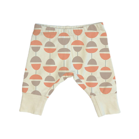 On The Go Organic Cotton Baby Leggings - Muna