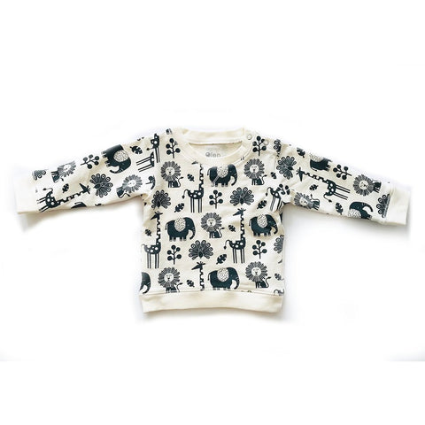 Every Body Organic Cotton Baby Crewneck