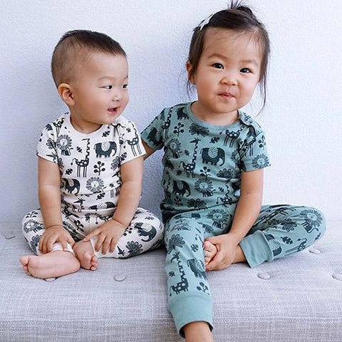 On The Go Organic Cotton Baby Leggings - Piha