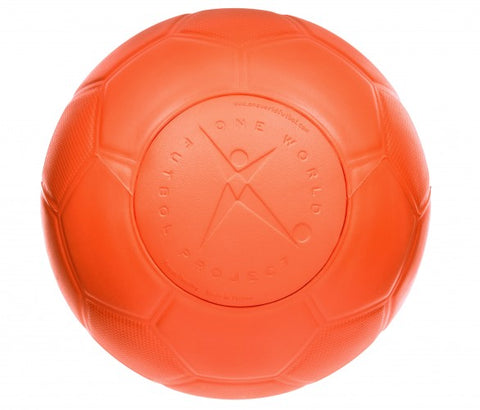 One World Soccer Ball, Orange