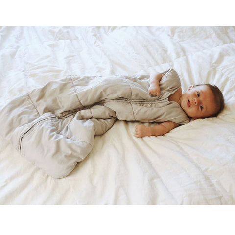 Organic Cotton Baby Quilted Snuggle Sack