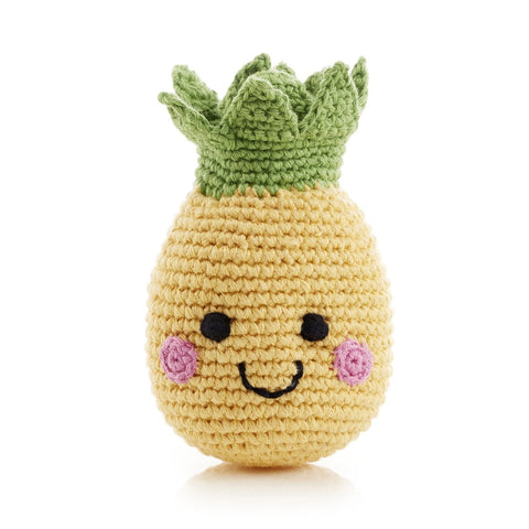 Fair Trade Friendly Pineapple Rattle