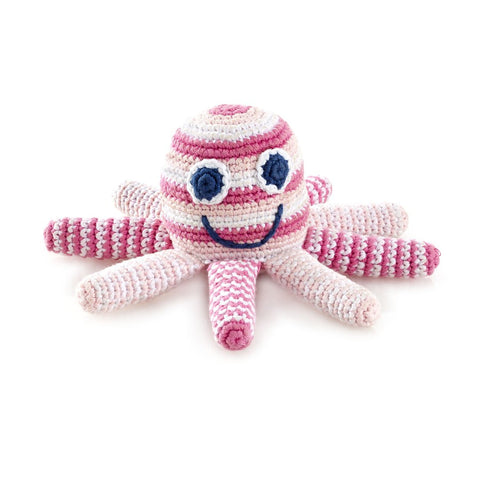 Fair Trade Friendly Octopus Rattle