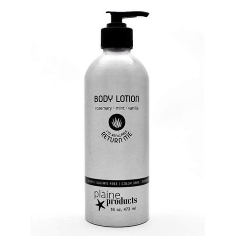 Eco-Friendly Rosemary and Vanilla Body Lotion