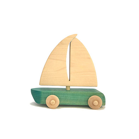 Blue Sailboat Toy