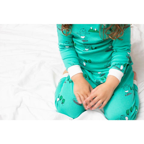 Organic Toddler Pajamas Set