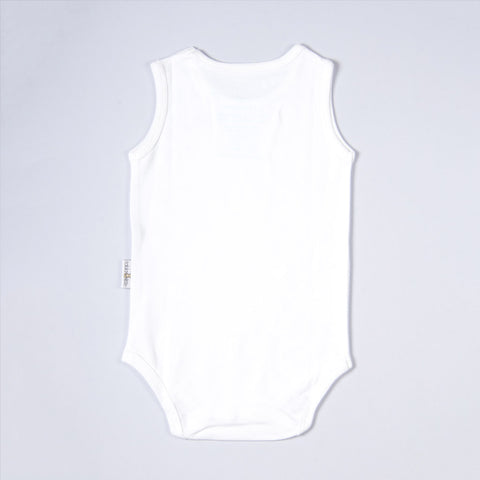 Organic Baby Wear Sleeveless Bodysuit