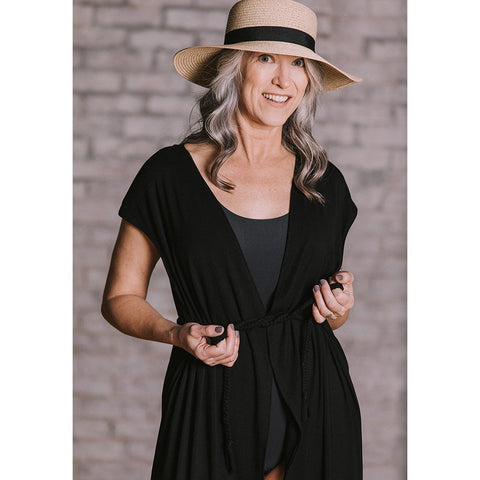 Wrap Coverup Top