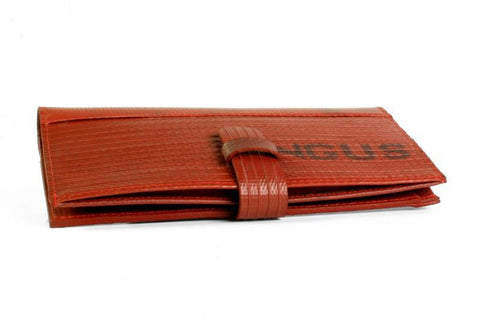 Reclaimed Fire Hose Travel Wallet - BuyMeOnce Direct - BuyMeOnce UK