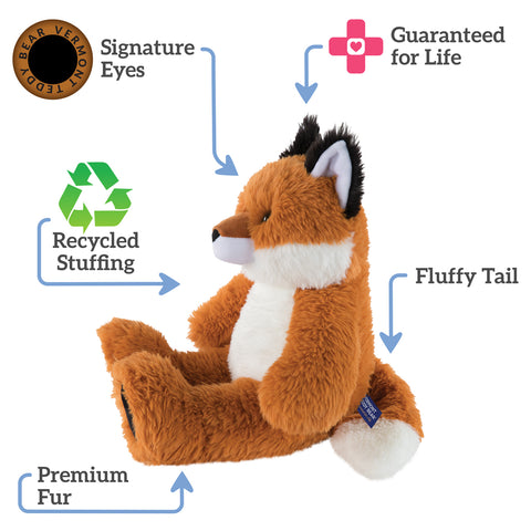 Oh So Soft Plush Toy Fox