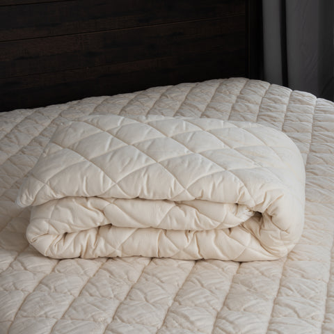 Washable Quilted Mattress Pad