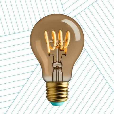 Whirly Wanda LED Filament Light Bulb