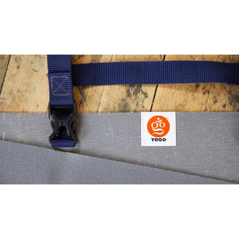 Long Travel Yoga Mat, Slate