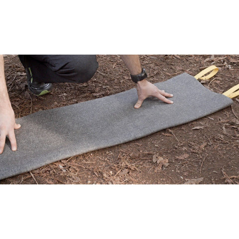 Long Travel Yoga Mat, Forest