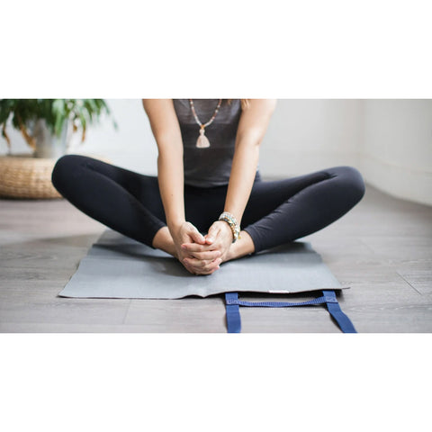 Ultralight Travel Yoga Mat, Slate