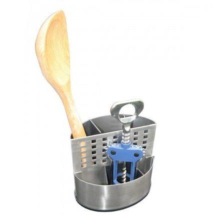 Satara Two Compartment Utensil Holder