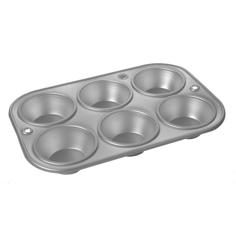 Anodised 6-cup Muffin Tray