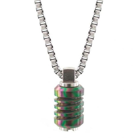 Jet Stainless Steel Necklace -  - BuyMeOnce UK