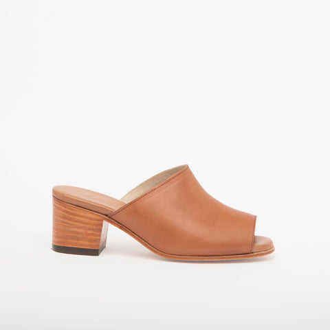 Marisol Open Toe Handmade Leather Mules