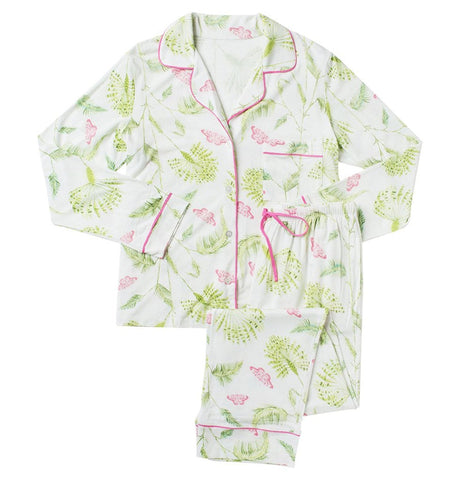 Butterfly Palm Pima Cotton/Modal Pajamas