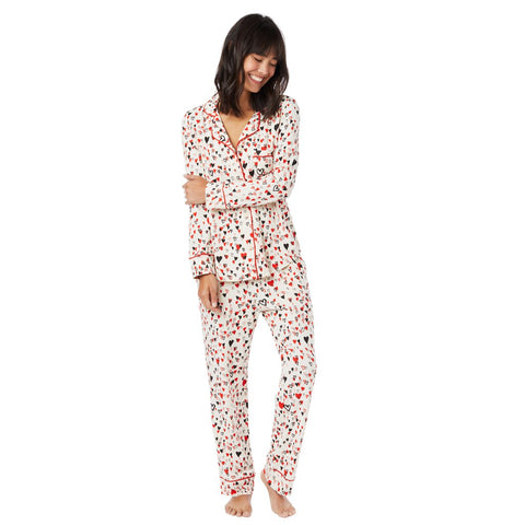 Sweethearts Cotton/Modal Knit Pajamas