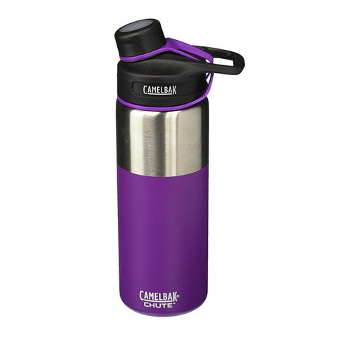 Insulated Stainless Steel Chute Bottle (20oz) - Fig