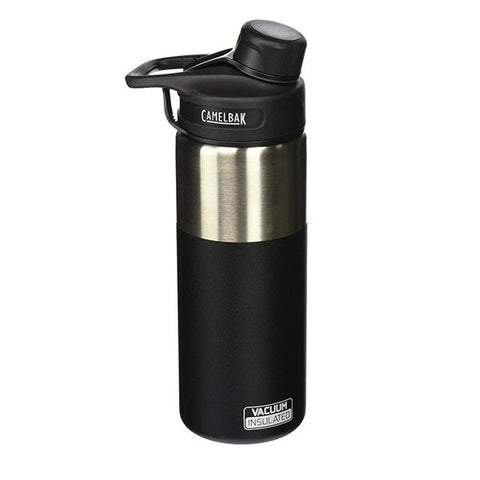 Insulated Stainless Steel Chute Bottle (20oz) - Pitch Black