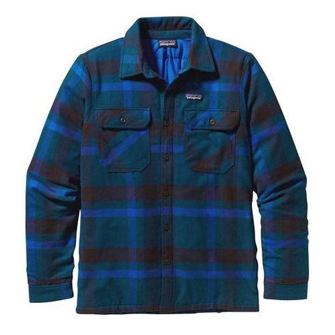 Men's Insulated Fjord Flannel Jacket