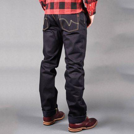 Indigo Straight Cut Jean