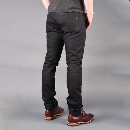 Super Black Slim Selvedge Jean
