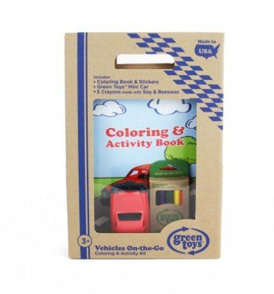 Vehicles Coloring & Activity Kit
