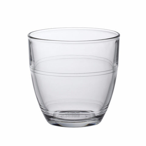 Gigogne Clear Glass Tumbler, 5 3/4 oz, Pack of 6