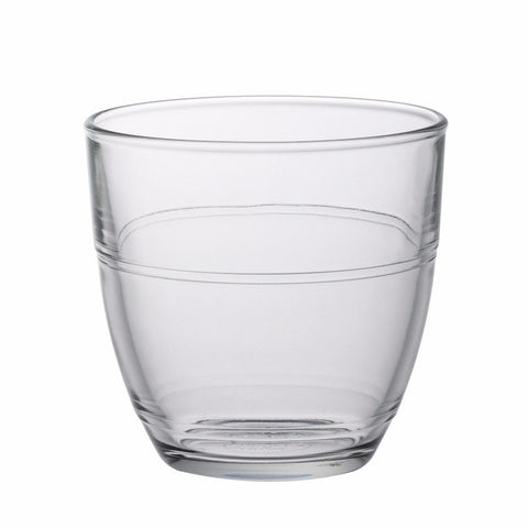 Gigogne Clear Glass Tumbler, 7 3/4 oz, Pack of 6