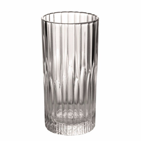 Manhattan Clear Glass High-Ball Tumbler, 10 5/8 oz, Pack of 6