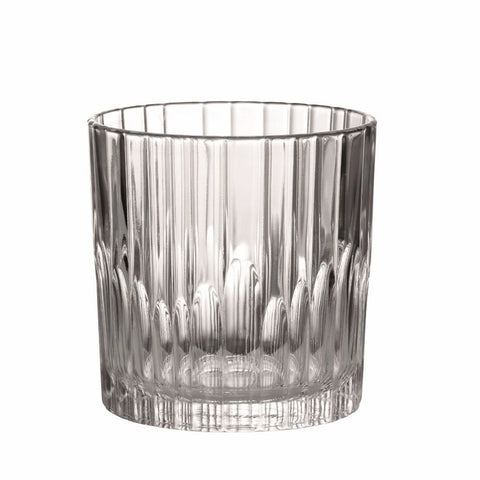 Manhattan Clear Glass Whisky Tumbler, 10 7/8 oz, Pack of 6