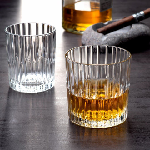 Manhattan Clear Glass Whisky Tumbler, 7 3/4 oz, Pack of 6