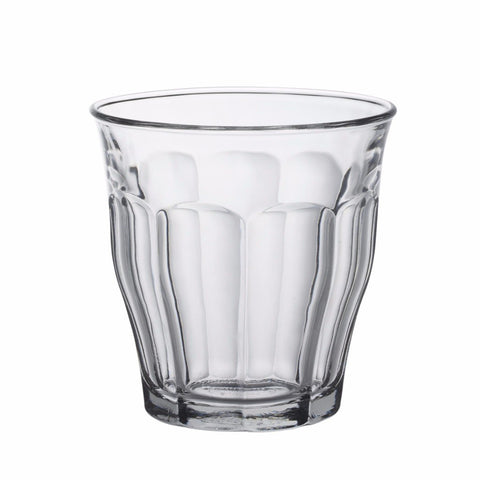 Picardie Clear Glass Tumbler, 8 3/4 oz, Pack of 6