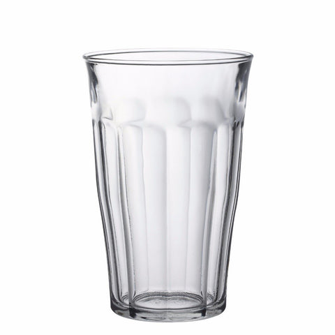 Picardie Clear Glass Tumbler, 17.62 oz, Pack of 6