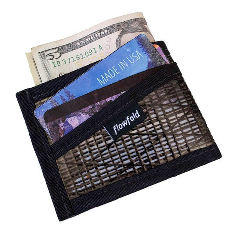 Recycled Sailcloth Craftsman Three Pocket Wallet