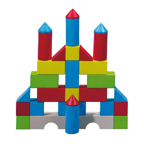 Colored Building Blocks, 30 Piece