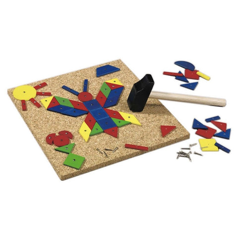 Geo Shape Tack Zap Play Set