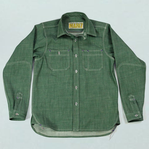 10 oz. Colored Denim Work Shirt