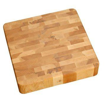 End Grain Cherry Chunk Cutting Board