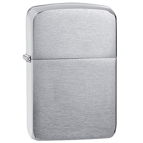 Armor Lighter - Brushed Chrome
